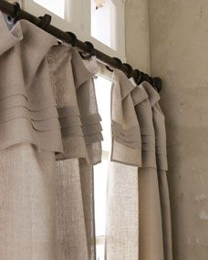 Pine Cone Hill 108L Pleated-Top Curtain