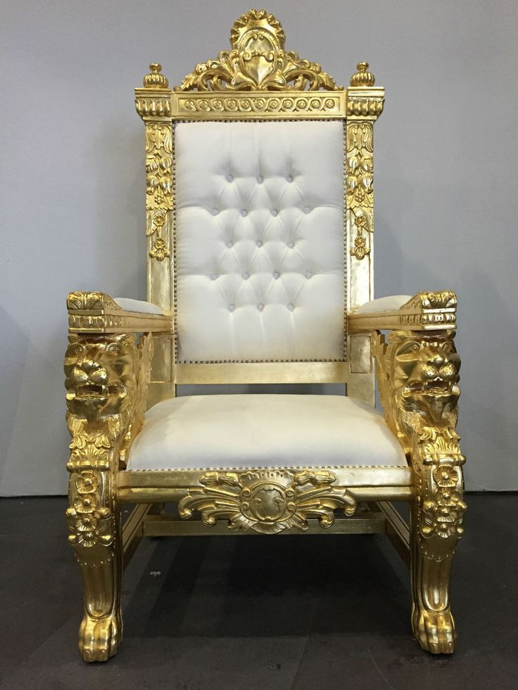 22 best Throne chairs and furniture images on Pinterest ...