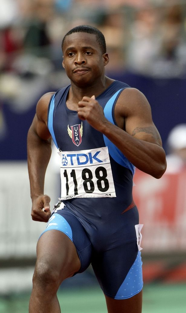 American sprinter Montgomery was a superstar, having claimed Olympic gold in the 4x100m relay in 2000, then going on to lower the 100m world record to 9.78 seconds in 2002.   However three years later his medal and world record were stripped after he was found guilty of using performance enhancing drugs and banned for two years.