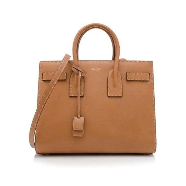 yves saint laurent beige small sac de jour tote