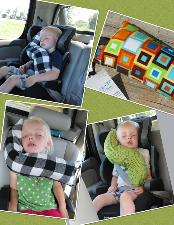 erGO BABY Bendable baby / toddler headrest carseat by callyfindlay, $29.99