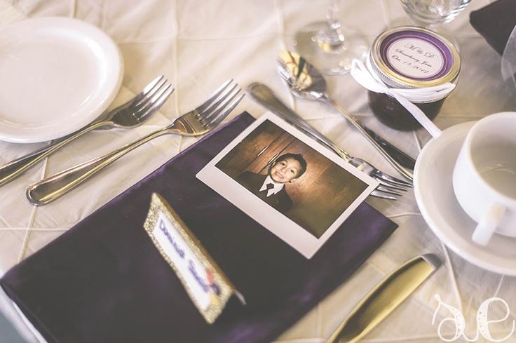 Dave & Marguerite's Wedding – Barrie, ON  polaroid favors