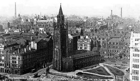 St Nicholas's, Liverpool, liverpool-l1-st-nicholas-church-c1920