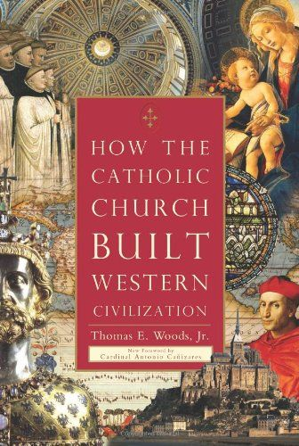 How The Catholic Church Built Western Civilization by Thomas E. Woods Jr http://www.amazon.com/dp/0895260387/ref=cm_sw_r_pi_dp_FOKvwb0TH4RT9