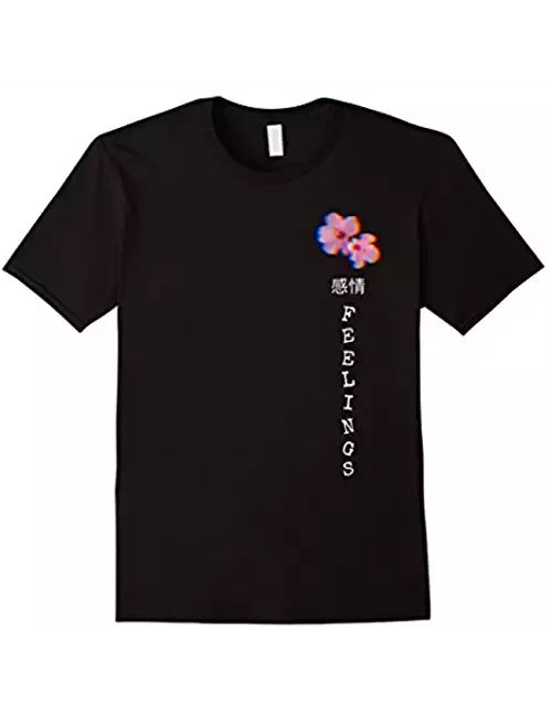 Vaporwave Aesthetic Feelings Flowers T-shirt