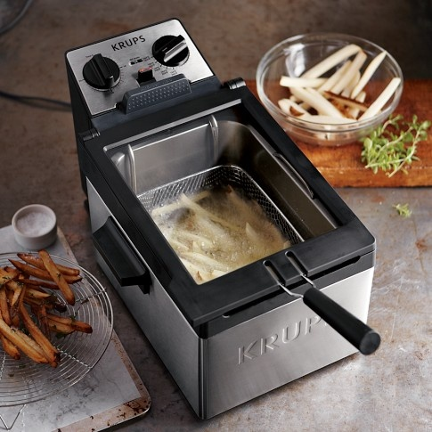 Deep fryers for the home kitchen