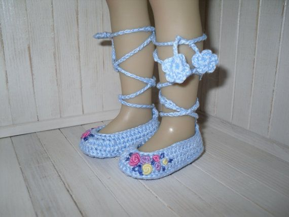 Beautiful handmade shoes for Dianna Effner 13 embroidered with tiny roses.   *Ready to ship! *Shipping from Poland, so it can take up to 7-21 days.…