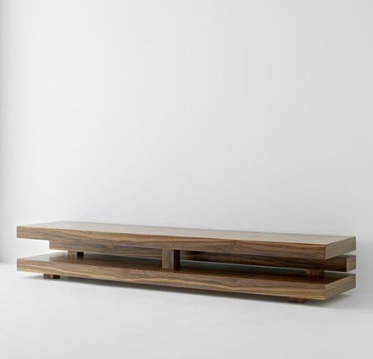 Mobile porta TV moderno / in legno PENROSE by AP Studio Passoni Nature