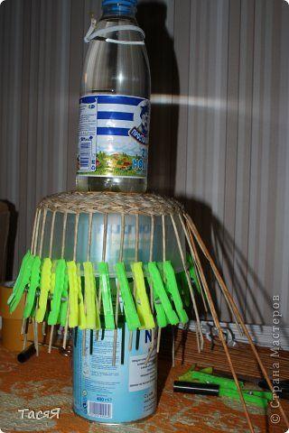 Поделка изделие Плетение Раскривушка  Трубочки бумажные фото 2