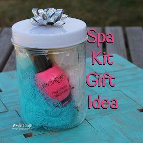 Doodle Craft...: Spa Kit Gift Idea