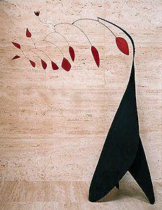 Alexander Calder, Red Petals, 1942