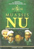 Toko Buku Sang Media : Muassis Nahdlatul Ulama : Manaqib 26 Pendiri NU Pe...