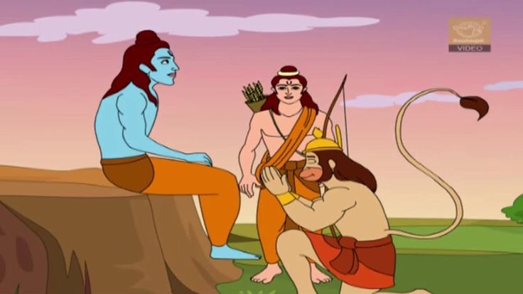 Hanuman In Search Of Sita - This is the story of the various obstacles Hanuman encounters on his mission to find Sita and how he overcomes them with valour, strength and presence of mind..