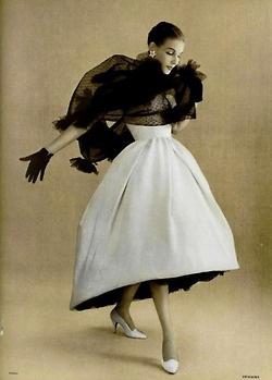 Vintage Glam…1950's Haute Couture  c.1957