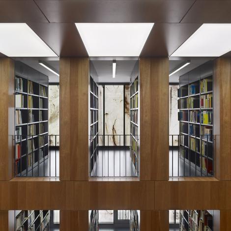 Max Dudler Architekt - Folkwang Bibliothek Essen