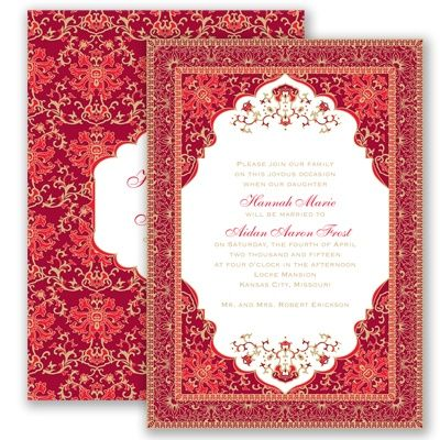 28 best persian invitations images on pinterest invitation ideas persian poppy wedding invitation elegant india mehndi farsi ethnic at invitations by davids bridalis can be done in blue gold white silver filmwisefo