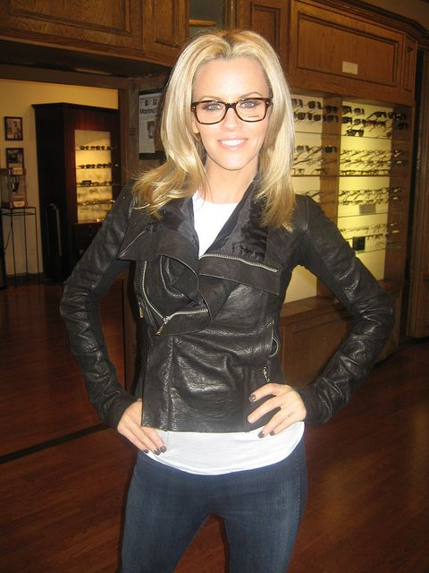 Jenny McCarthy wearing Chanel eyeglasses by SF Optics, via Flickr