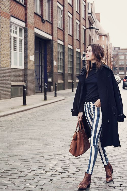 I feel absolutely fabulous  Look of the Day.247 : Stripes Alert  from amlul
