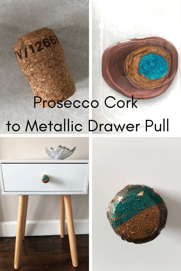 Prosecco Cork To Metallic Drawer Pull In 2020 Drawer Pulls Prosecco Nail Varnish Colours