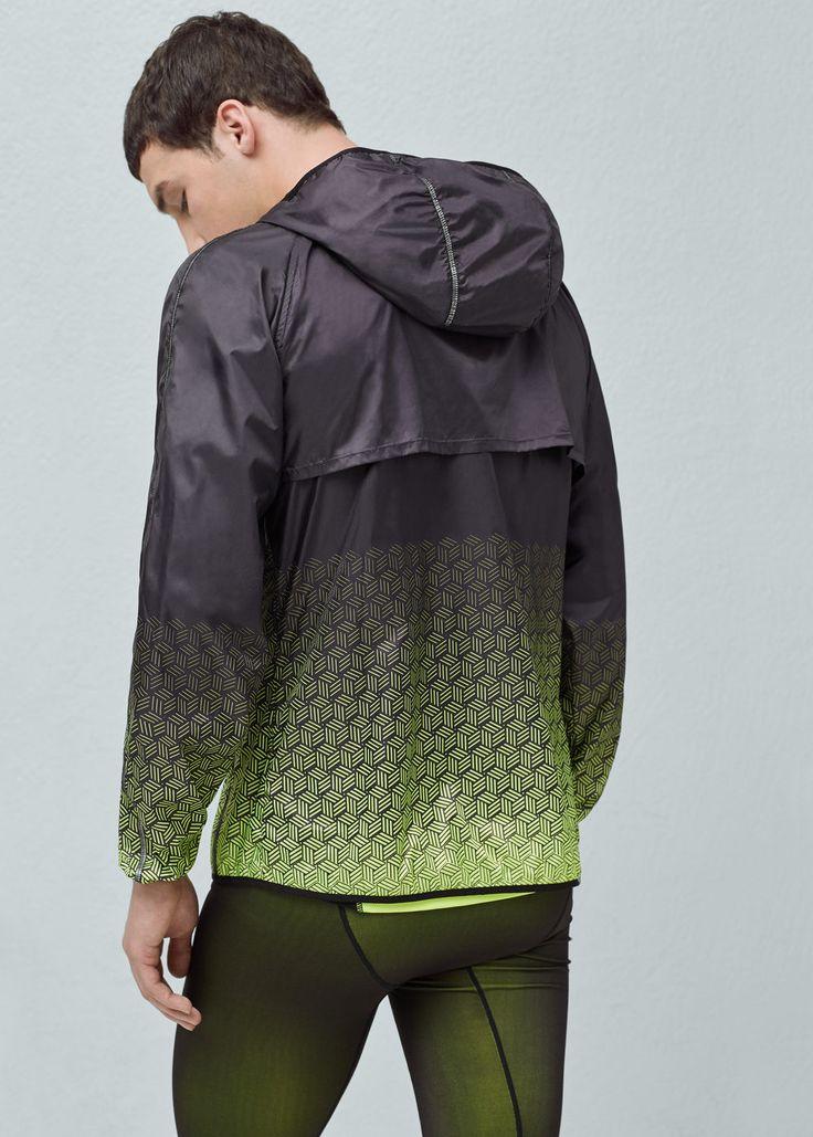 Ultra-light running jacket | MANGO MAN