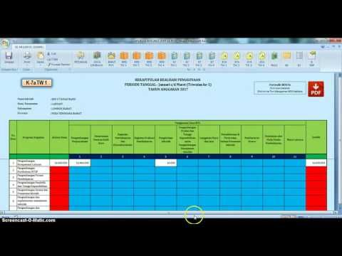 Aplikasi RKAS BOS SD Update 2017