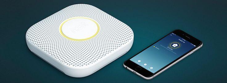 Nest Protect, le détecteur d'incendie vraiment intelligent. Plus de tendances tech sur le blog#sweethomesmartlife - #product #tech