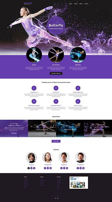 skating shop web layouts - Szukaj w Google