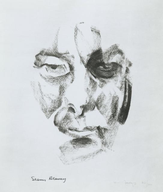 Portrait of Seamus Heaney by Louis le Brocquy