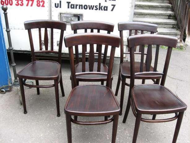 Krzesła Thonet sygnowane kpl. Nowy Sącz - image 5