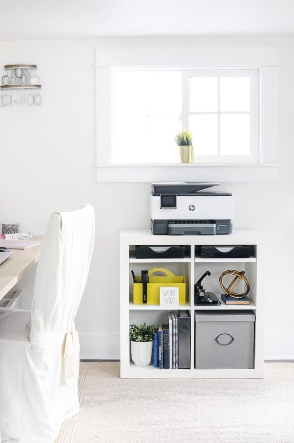 Home Office Setup Ideas For An Efficient Printer Station Cheap Office Furniture Home Office Setup Home Office Storage