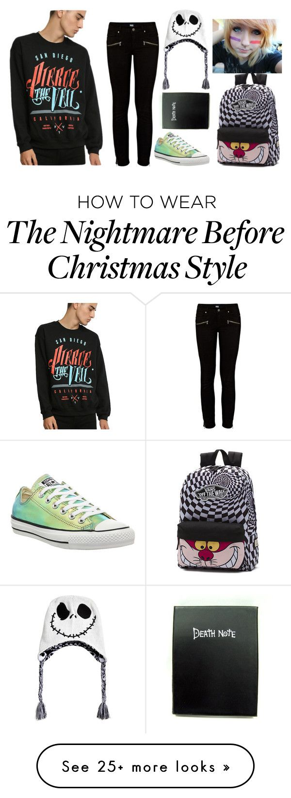 """I've really been on a bender and it shows."" by frerardforever on Polyvore featuring Paige Denim, Converse and Vans"