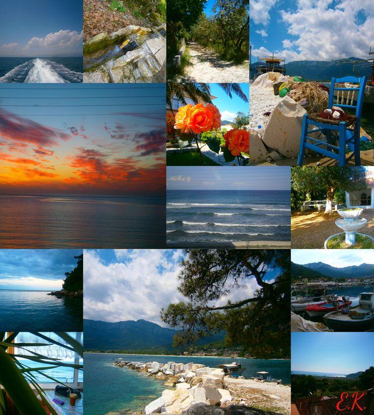 ΘΑΣΟΣ #thasos island Πέντε μέρες ξεκούρασης, ηρεμίας, γαλήνης αλλά και δημιουργικότητας, γέλιου, διασκέδασης..! Μα πάνω απ'όλα φροντίδα και πολύ αγάπη!  Σας ευχαριστώ Rock φιλαράκια μου, Ρία & Ντίμη ! Γιατί όπως λέει και ένας γνωστός στίχος: - Ροκ είναι να 'χεις είναι να πίνεις - ...κι άμα δεν έχεις τότε να δίνεις. Αυτό είναι ροκ! Υγεία και ένα όμορφο καλοκαίρι για όλους μας!