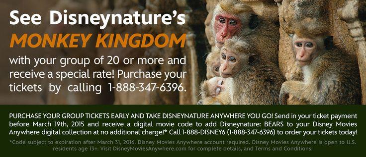 Monkey Kingdom   Official Site   Disneynature