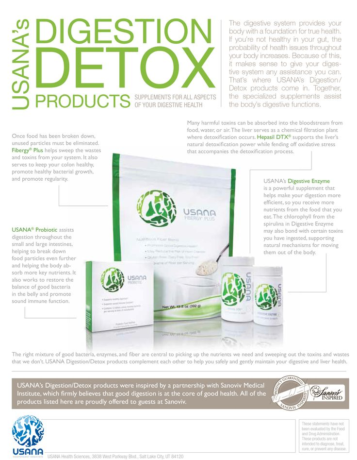 Digestion & Detox Products from Usana. Your Immune System's Frontline. Gear Up for Battle.