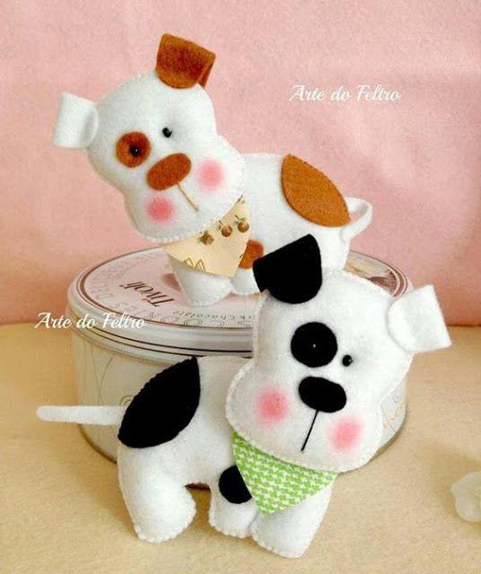 Eu Amo Artesanato: Cachorrinhos