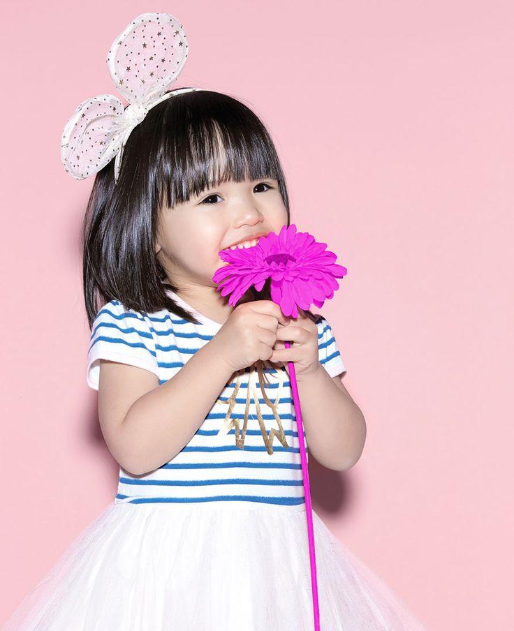 Baby Girl's Marie Bow Tie - Bardot Junior