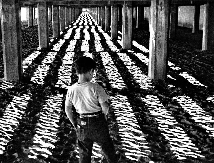 Richie Andrusco in Little Fugitive directed by Ray Ashley, Morris Engel & Ruth Orkin, 1953