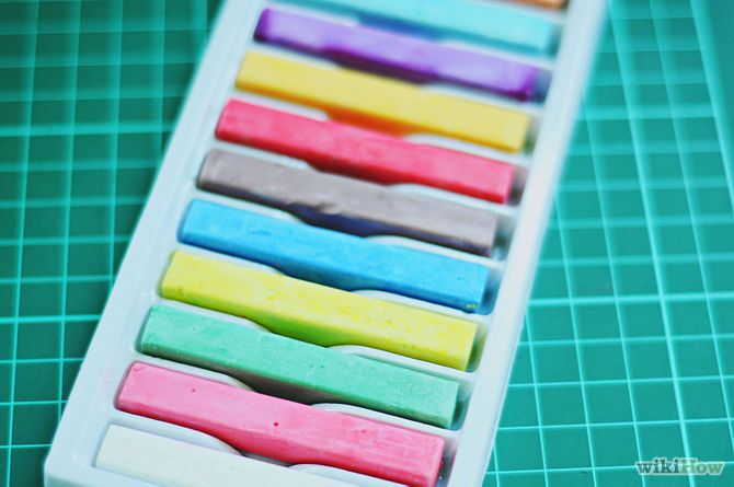 Immagine titolata Temporarily Dye Your Hair Using Chalk Step 1