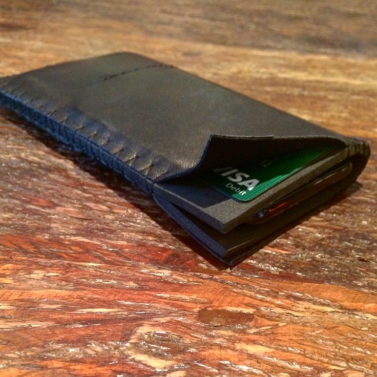 iPhone 7 case from #rubberfoam dressed in #black #leather, inner #pocket for #business /credit #cards  #handcrafted #sleeve #iPhone7 #wateresistant #materials #thisisit  #mensaccessories #menstyle #uk #london #thisisitgram #thisisitdaily