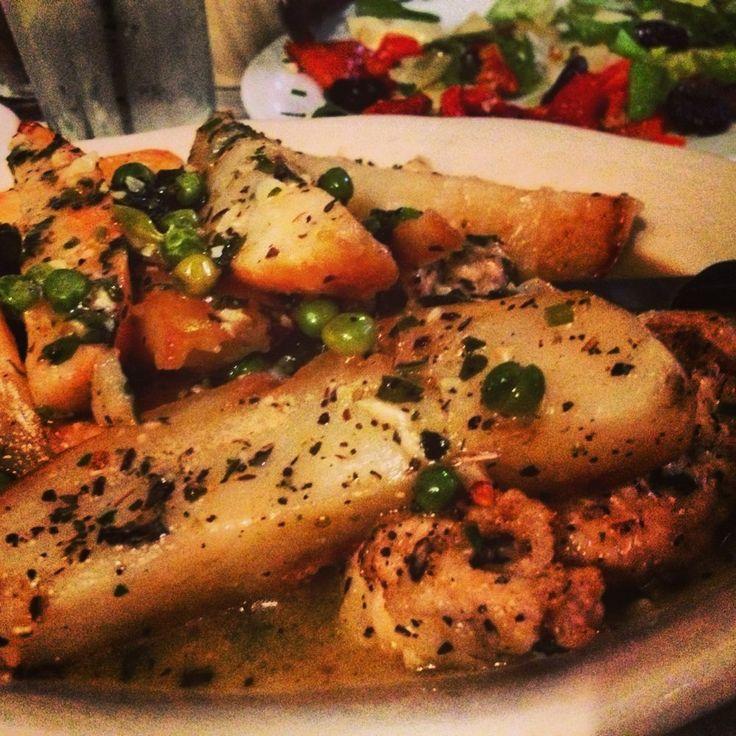 La Scarola - Chicago, IL.  .Known for their chicken vesuvio, and other classic Italian dishes.