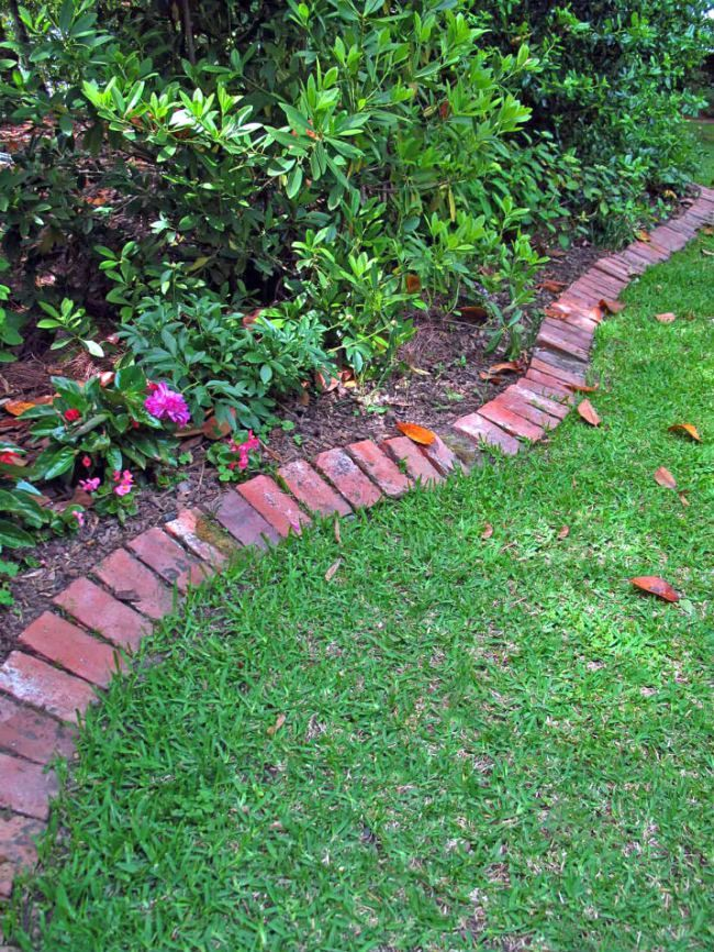 Landscape Trim Concepts Brick Garden Brick Garden Edging Diy Lawn