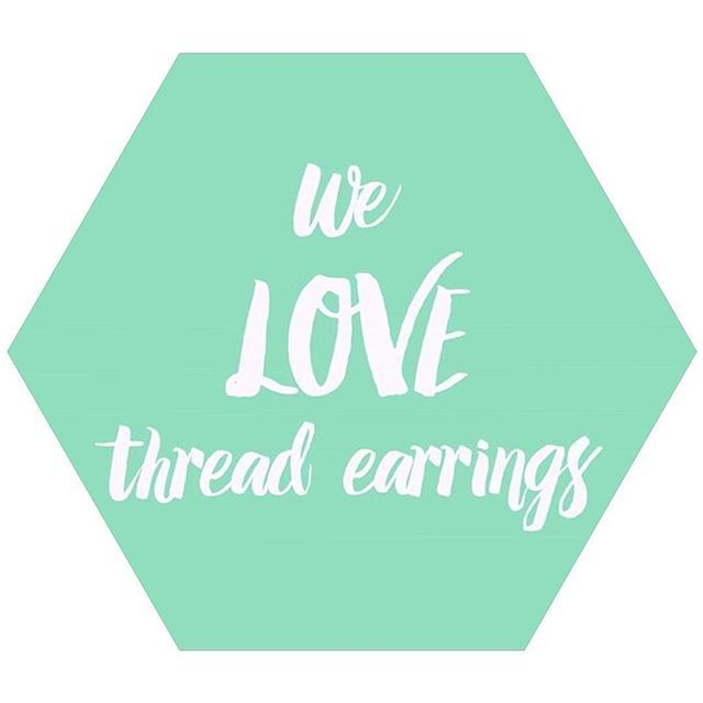 """""""Yep - we really do! Take a look at the thread earring range at www.moemoedesign.com.au // #TheCurioCollective #MoeMoeDesign"""" Photo taken by @moe_moe_design on Instagram, pinned via the InstaPin iOS App! http://www.instapinapp.com (08/07/2015)"""