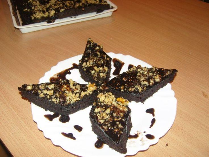 Brownie kakaóporral - Süss Velem.com