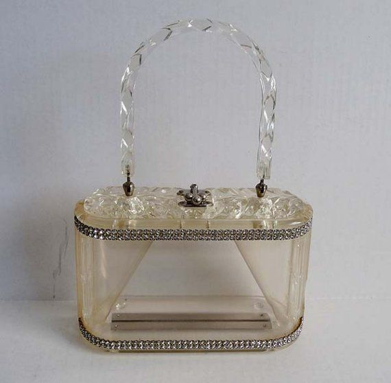 ...Lucite purses will be carried, and all contents housed inside will be appropriate for all to see.