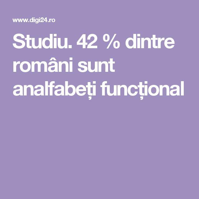 Studiu. 42 % dintre români sunt analfabeți funcțional