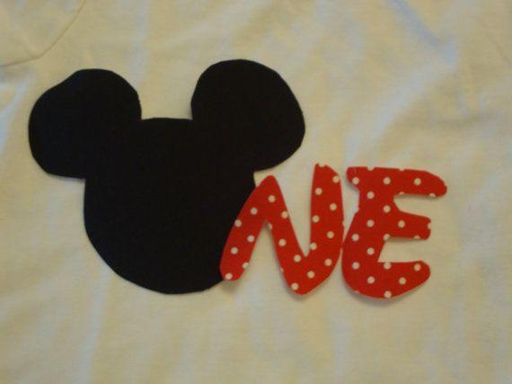 Minnie Mouse 1 º 2 º cumpleaños por kallaskreations en Etsy