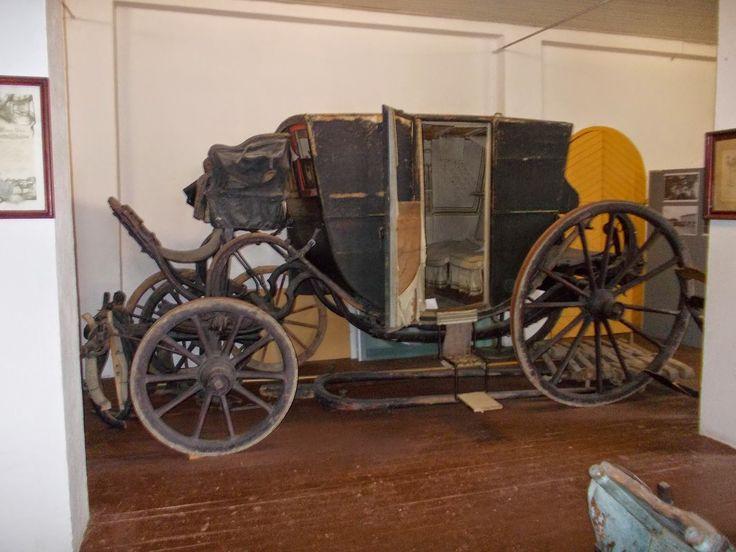 Ilmajoen museo.  Wasastjerna-aatelissuvun käytössä olleet vaunut.