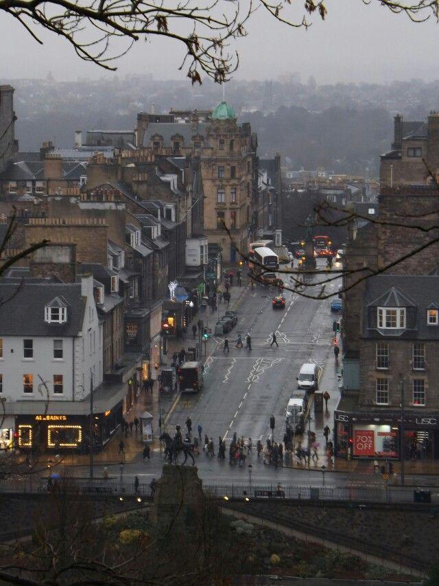 Frederick Street , Edinburgh | Edinburgh, Scotland ...