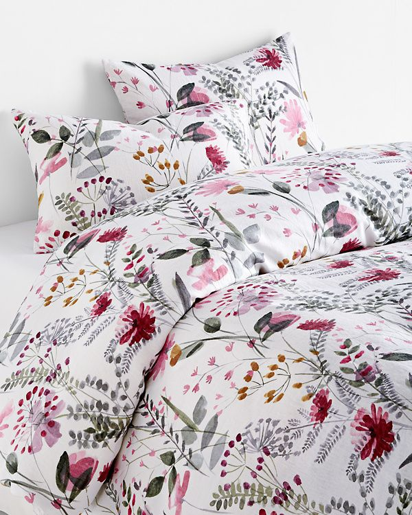 Wildflower Linen Duvet Cover Linen Duvet Linen Duvet Covers Duvet Covers