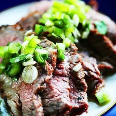 Grilled Tri-Tip Steak with Bell Pepper Salsa | Recipe | Grilled Steaks ...